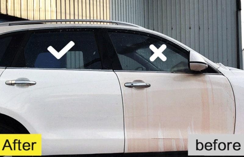 Гидрофобное покрытие для кузова