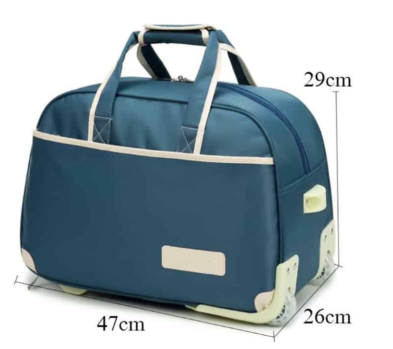 Дорожная сумка с ручкой и колёсиками
