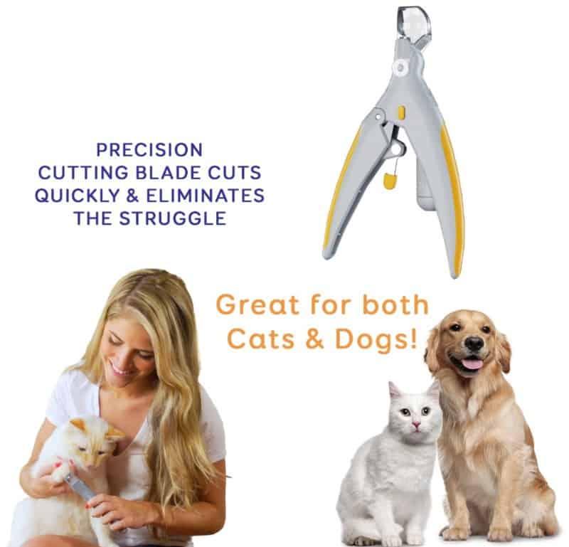 Безопасные кусачки для обрезки когтей у кошек и собак