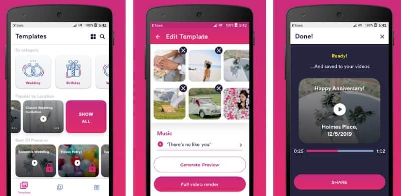 Inviter - приложение для создания видеоприглашений