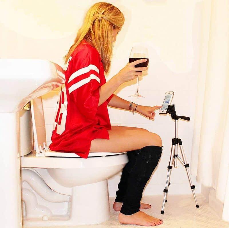 Туалетная тренога для смартфонов Potty