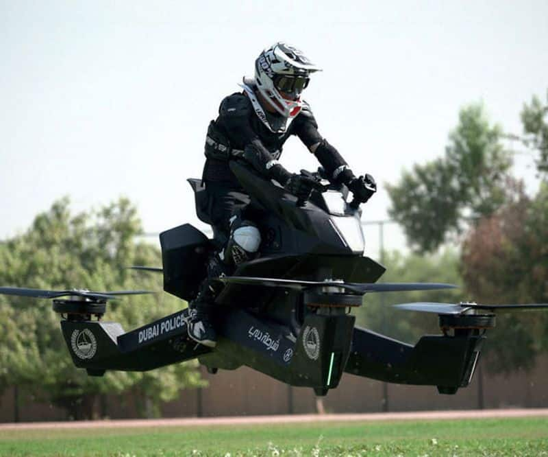 Персональный ховербайк Hoverbike S3