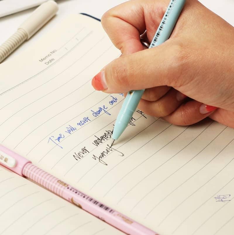 Гелевая ручка с возможностью стирания написанного Kawaii