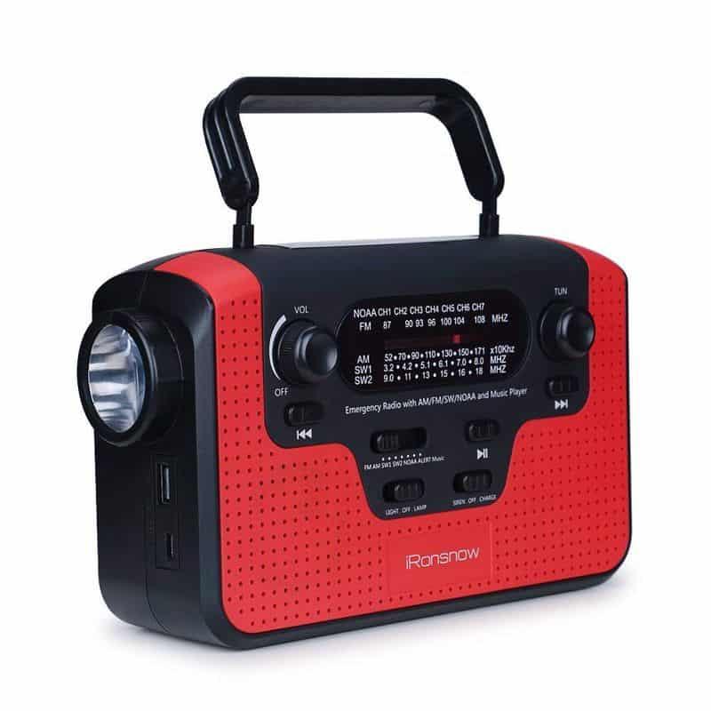 Радио с расширенным диапазоном приёма iRonsnow IS-388