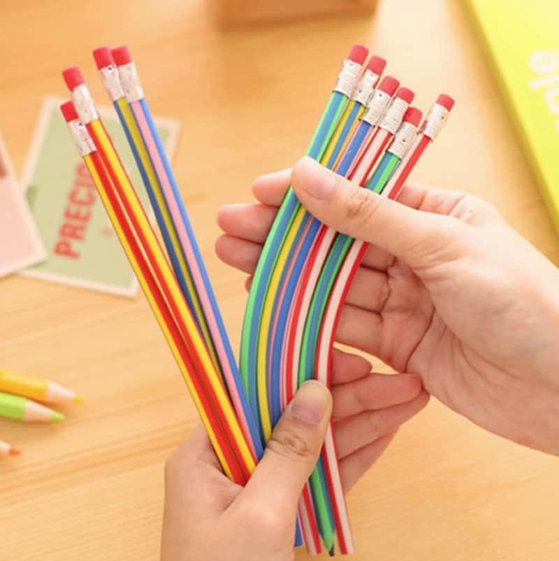 Гибкие карандаши с ластиком