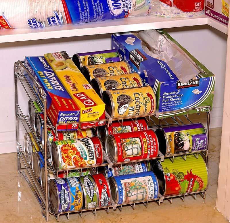 Стойка для хранения консервных банок от SimpleHouseware