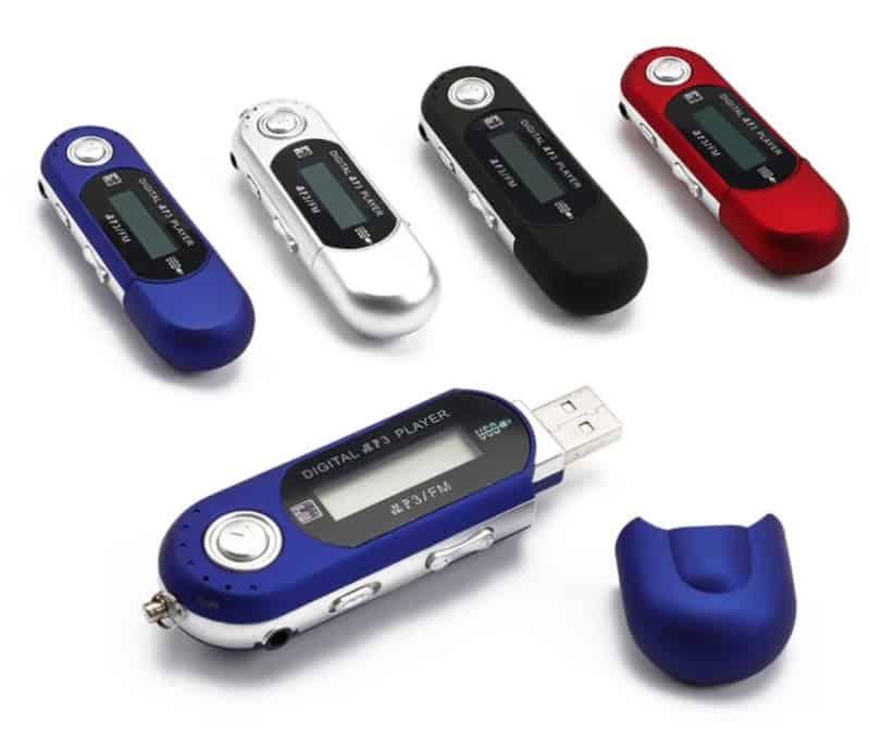 MP3-плеер в формате флешки