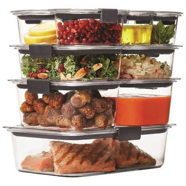 Набор пищевых контейнеров Rubbermaid Brilliance