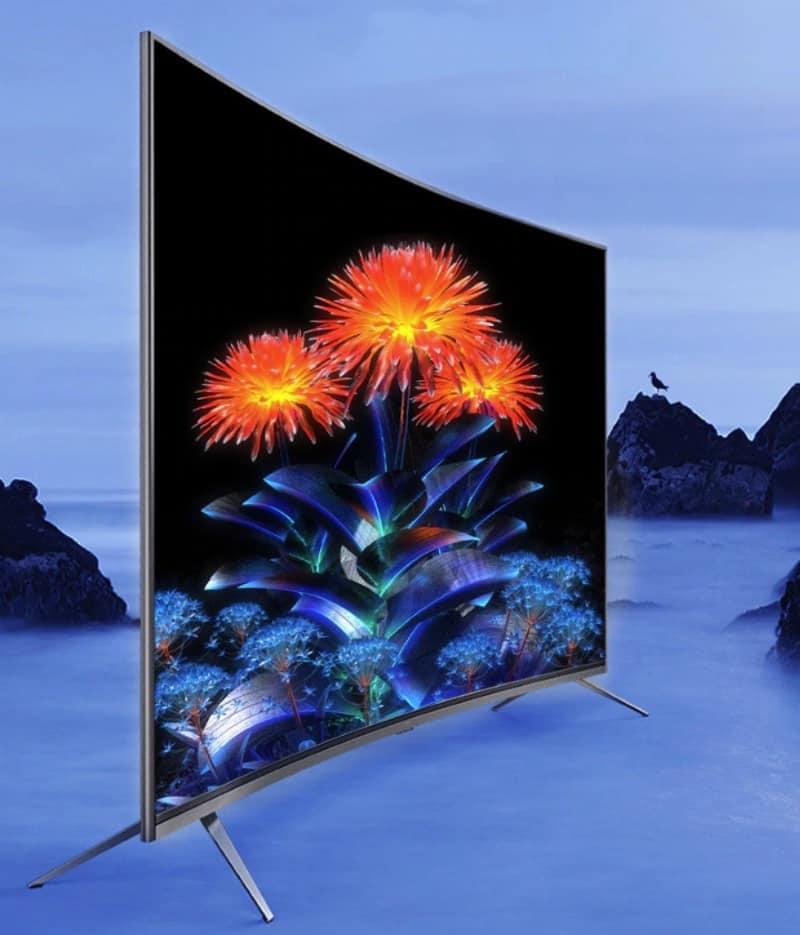 Телевизор с изогнутым экраном Pioneer TV