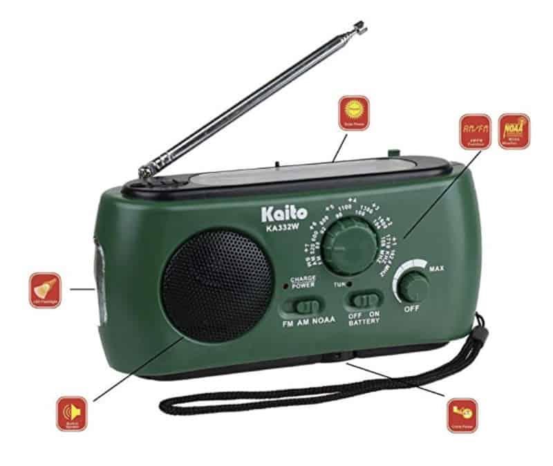 Kaito KA332W - приёмник карманного формата