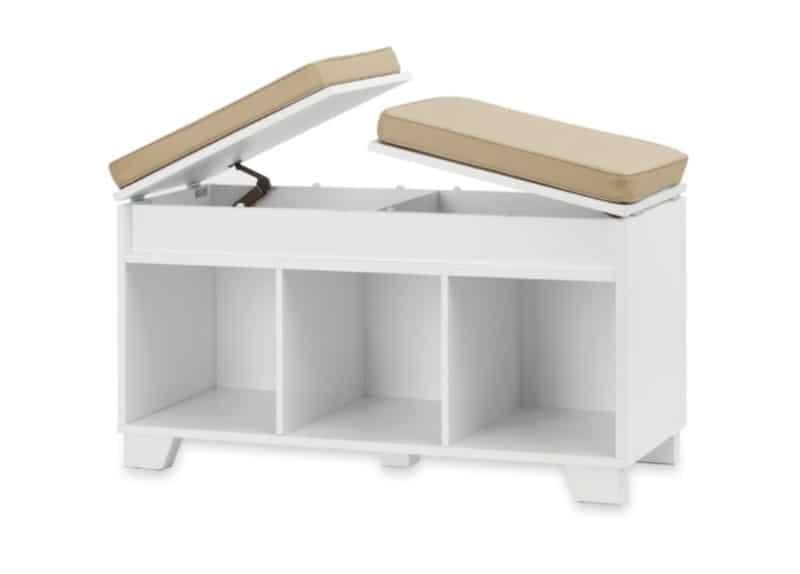 Скамейка с ящиками для хранения вещей Real Simple