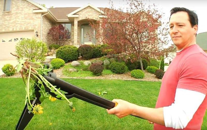 Садовый инструмент для удаления сорняков с корнями от Fiskars