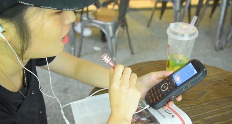 Мобильный телефон с функцией BT-колонки и караоке SERVO K8