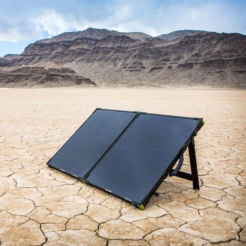 Портативная солнечная панель в формате чемодана Goal Zero