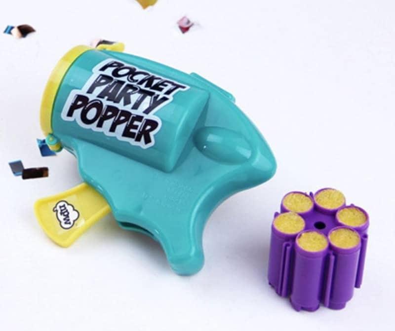 Игрушечный револьвер для конфетти