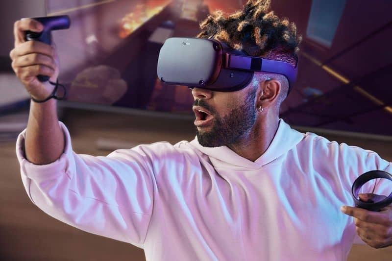 Новая версия VR-шлема Oculus Quest