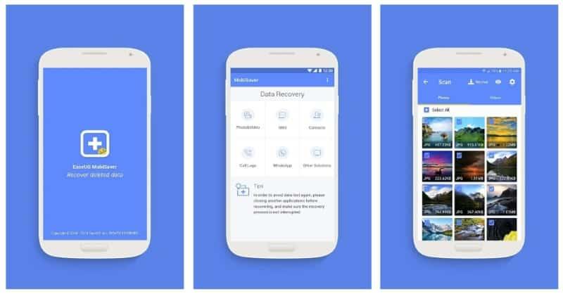 EaseUS MobiSaver - приложение для восстановления удалённых файлов, контактов и SMS