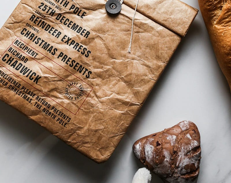 Влагостойкий бумажный пакет для продуктов