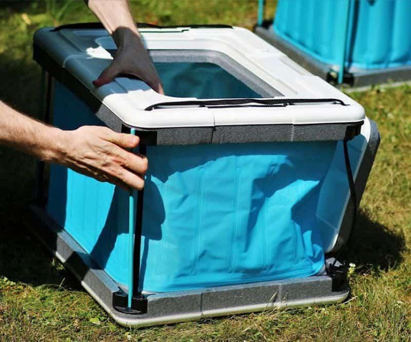 Складной холодильник Yuma 60L, работающий без электричества и льда