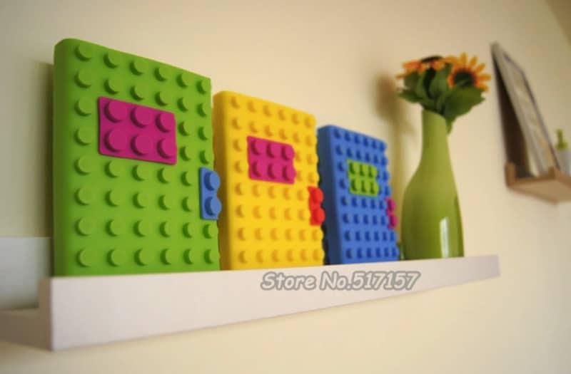 Ежедневники в стиле Lego
