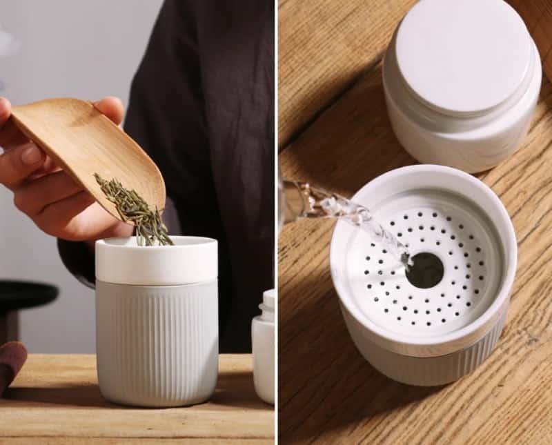 Портативный набор для приготовления чая