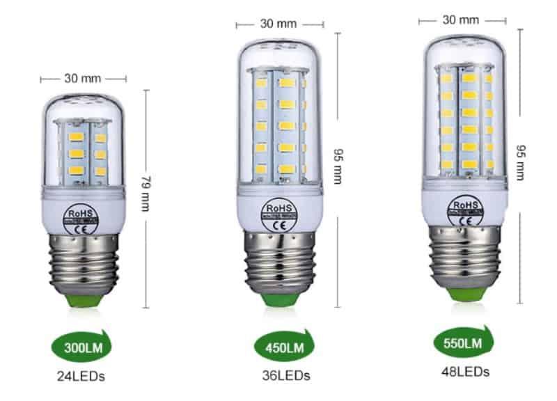 LED-лампочки с цоколем E27