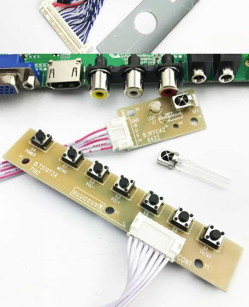 Универсальная плата для ремонта LCD-телевизоров