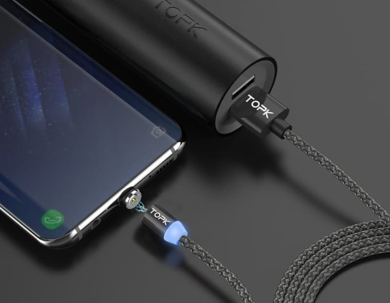 Универсальный зарядный кабель Topk
