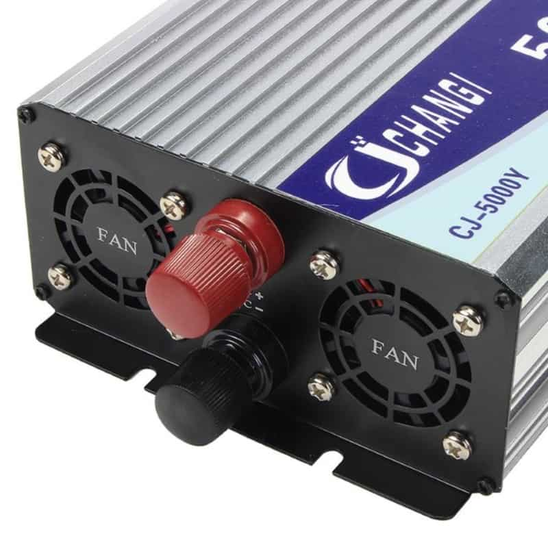 Мощный инвертор с экраном Changi CJ-5000Y