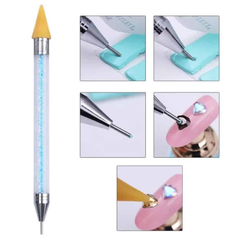 Ручка для украшения маникюра стразами