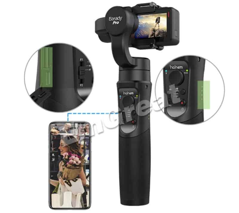 Стабилизатор для экшн-камер Hohem iSteady Pro 3
