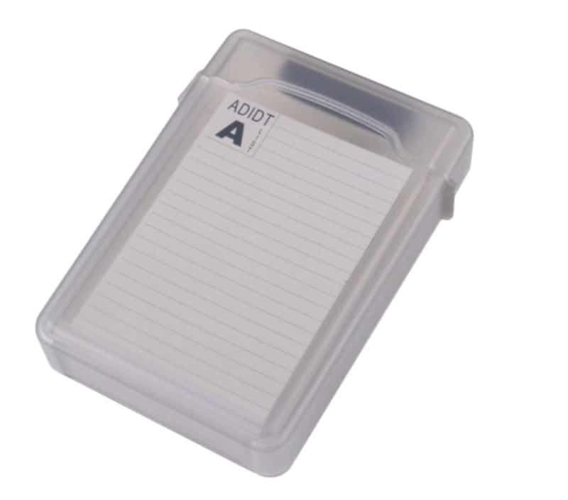 Пластиковый кейс для переноски дисков