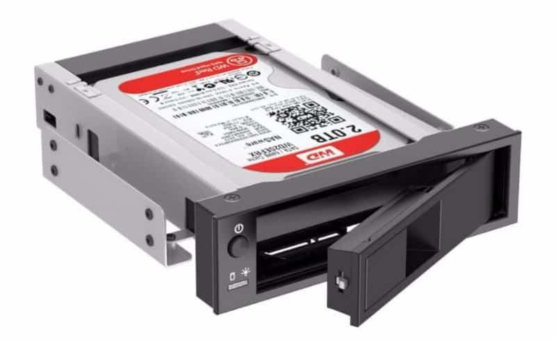 Адаптер для установки диска в 5-дюймовый отсек