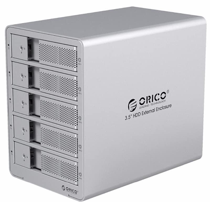 Корпус для 5 дисков Orico
