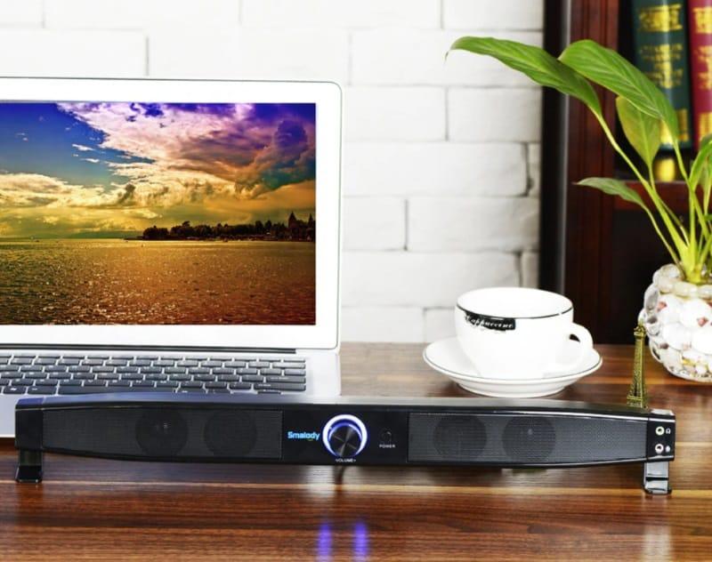 Звуковая панель с выводом на наушники