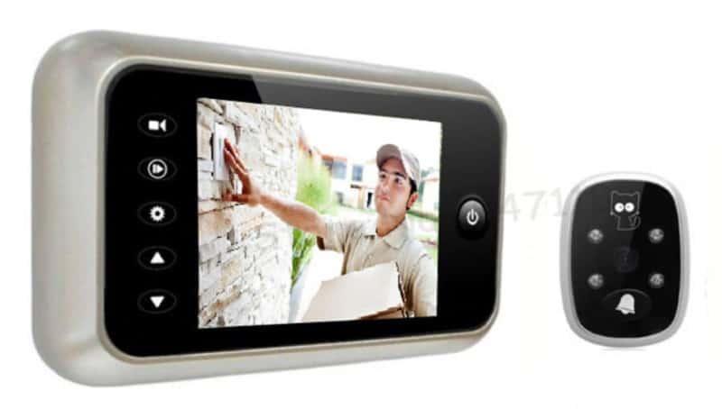 Цветной видеозвонок с ИК-подсветкой