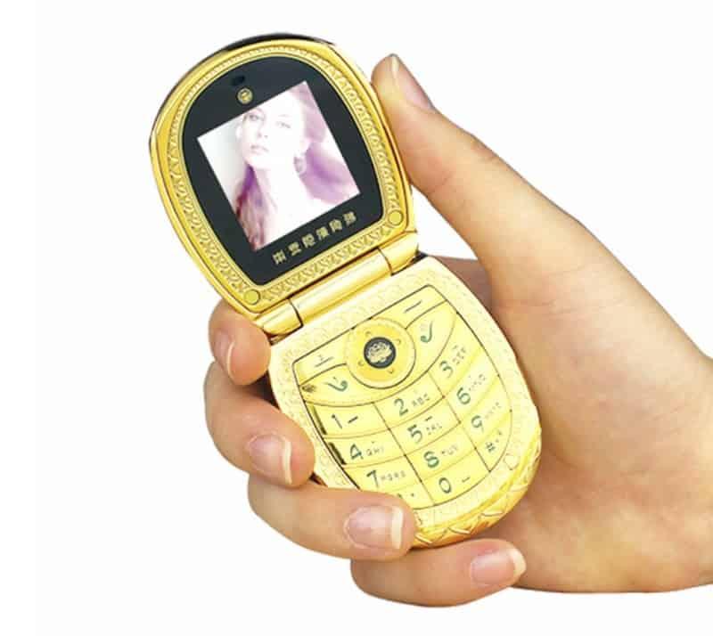 Роскошный телефон-раскладушка Mafam U1