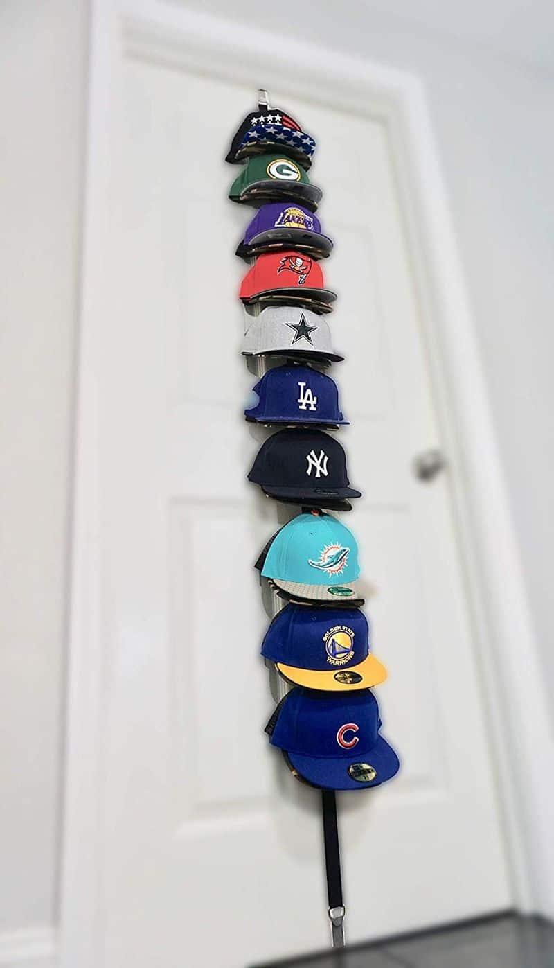 Вертикальная вешалка для бейсболок от Hat-Headz