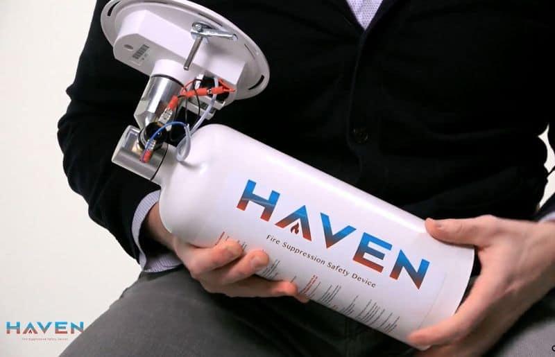 Автоматический огнетушитель Haven