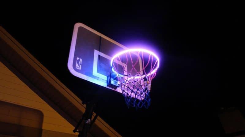 Баскетбольное кольцо с детектором попаданий HoopLight