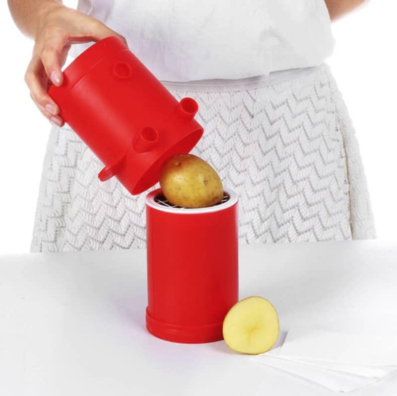Контейнер для быстрого приготовления картофеля фри