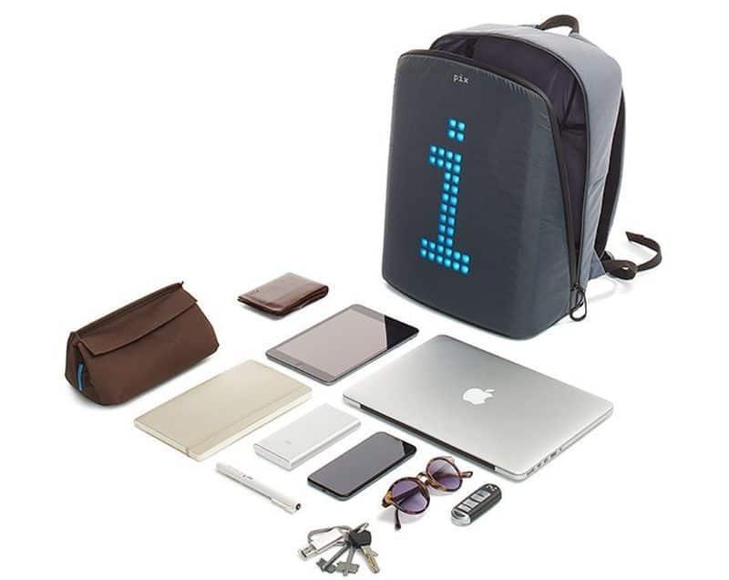 Рюкзак с пиксельным экраном Pix