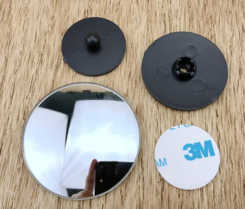 Широкоугольное дополнение для зеркал заднего вида