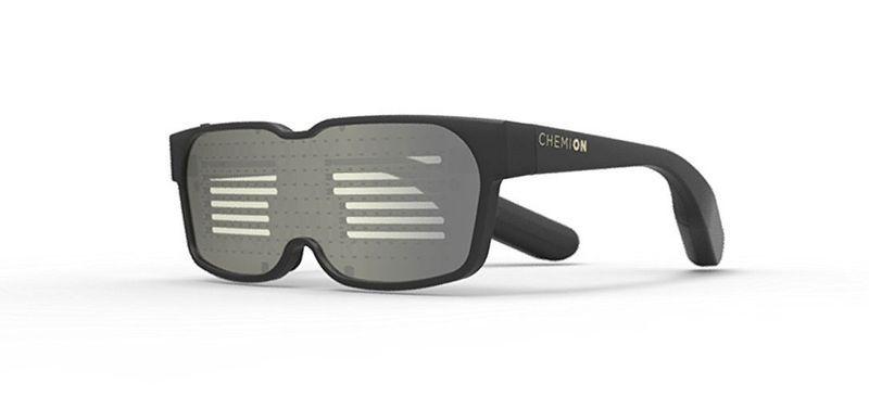Очки с программируемым световым табло Chemion