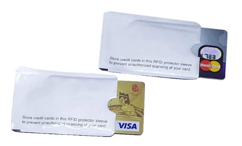 Экранированный пакетик для защиты бесконтактных карт