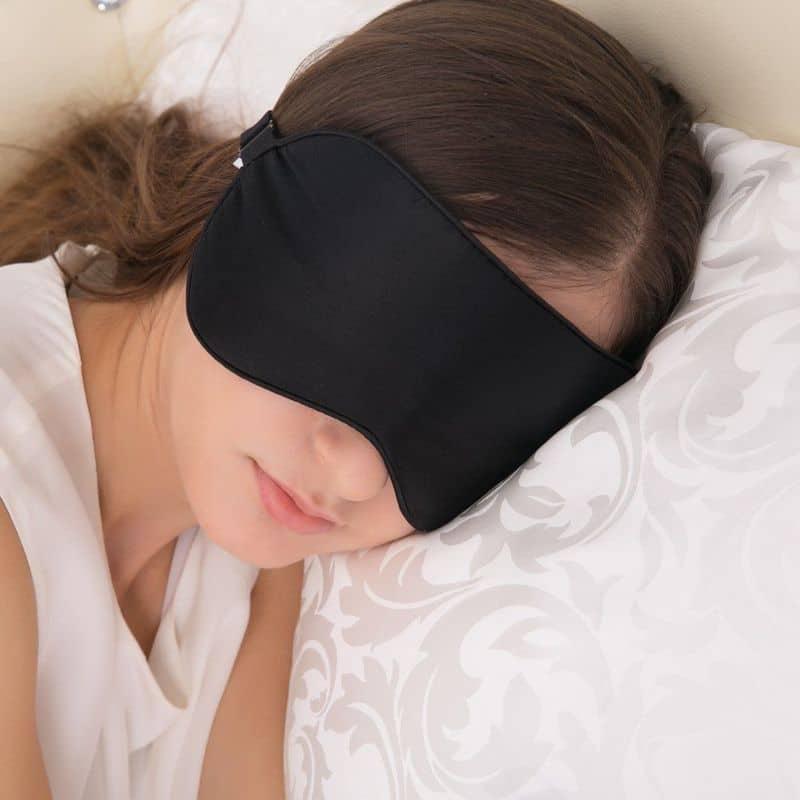 Шёлковая маска для сна Alaska Bear