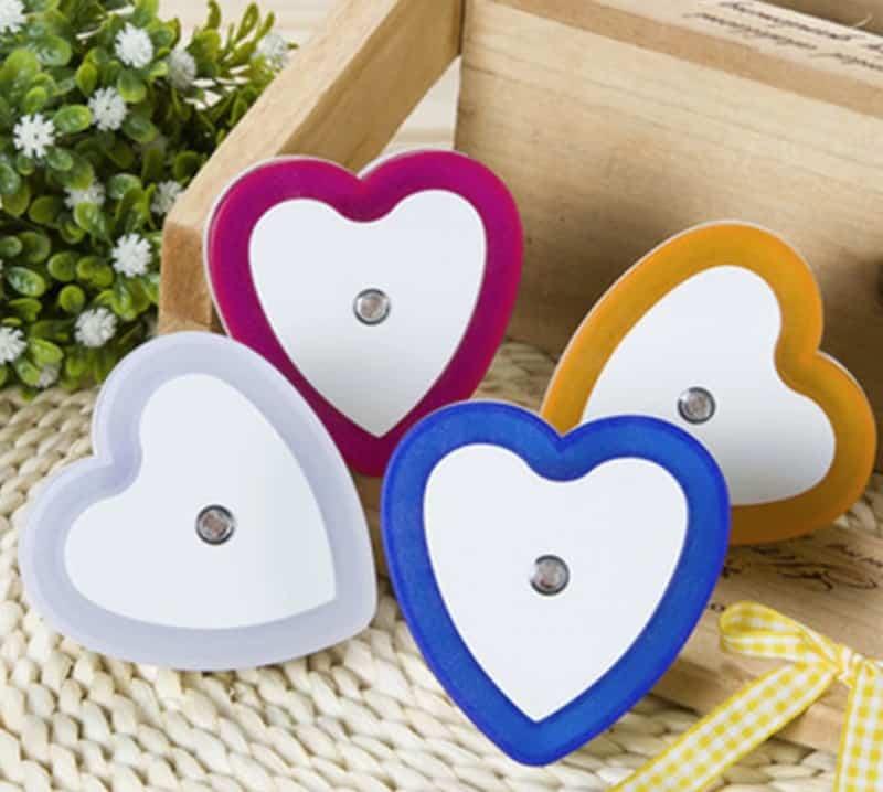 Светодиодный ночник в форме сердца