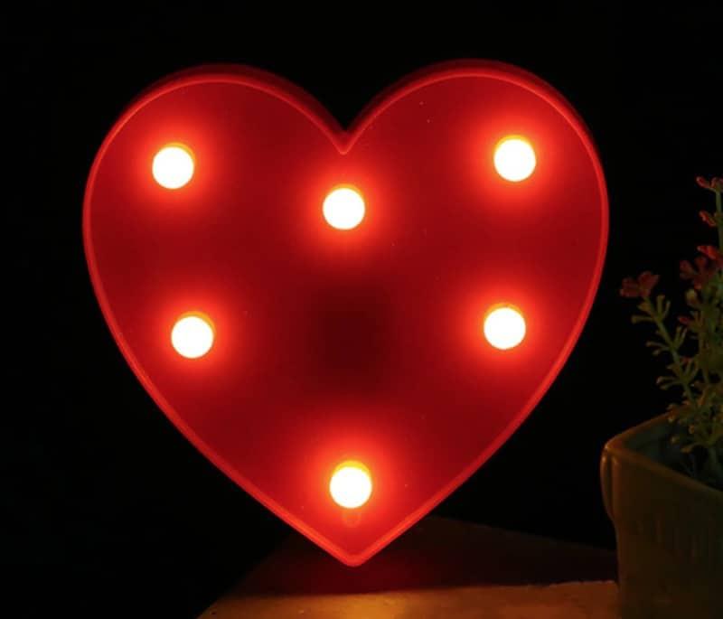 Большой романтический светильник