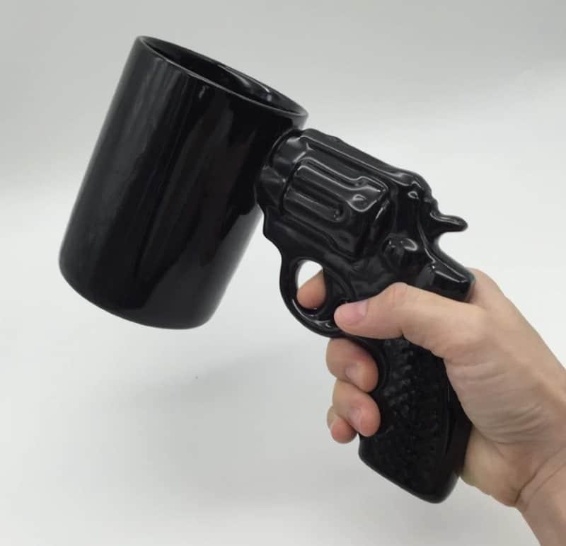 """Кружка """"Револьвер"""""""