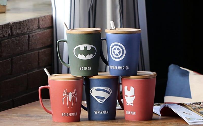 Серия супергеройских кружек
